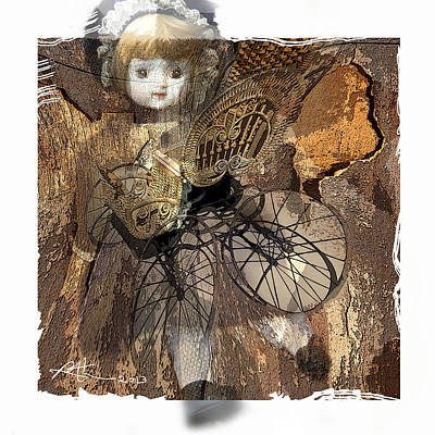 Buggy Mixed Media - Baby Buggy by Bob Salo