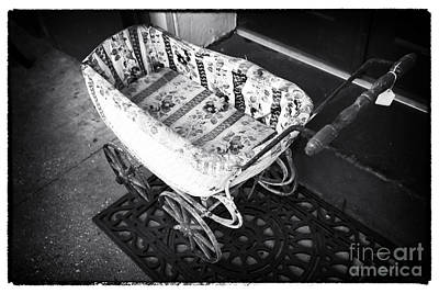 Photograph - Baby Carriage by John Rizzuto