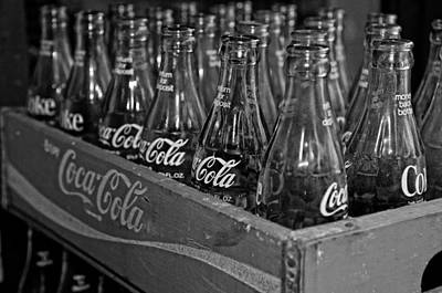 Andy Crawford Photograph - Baby Cokes by Andy Crawford