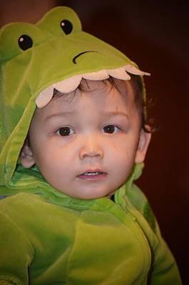 Photograph - Baby Dinosaur by Maria Urso