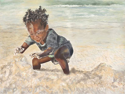 Painting - Baby Eugene by Kimberly Potts