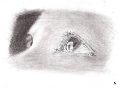 Baby Eyes Art Print