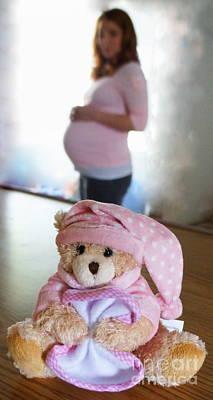 Photograph - Baby Girl by Rachel Munoz Striggow