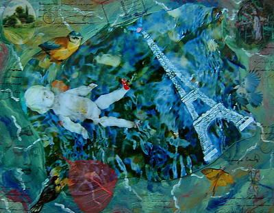 Painting - Baby Paris by Tamyra Crossley