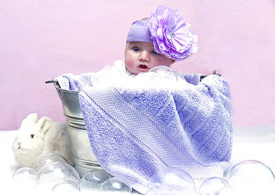 Photograph - Baby Purple  by Trudy Wilkerson