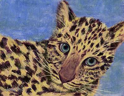 Painting - Baby Spotted Cat by Jamie Frier