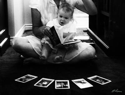 Photograph - Baby Tarot Reader by Diana Haronis