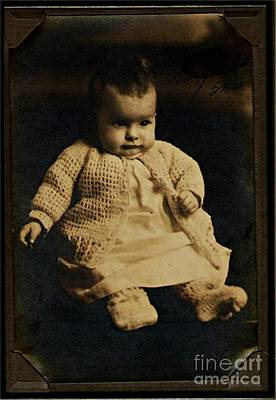 Photograph - Baby Virginia 1930 by Unknown
