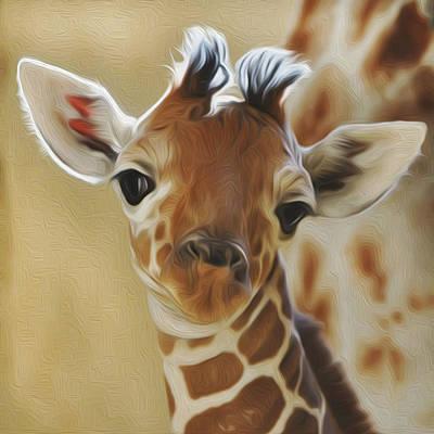 Baby Zara Art Print