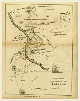 Babylon, Map, 1827 Art Print by Litz Collection