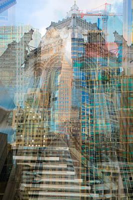 Chicago Photograph - Babylon Proportion 1 by Kevin Eatinger