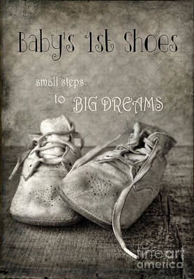 Photograph - Baby's First Shoes by Jill Battaglia