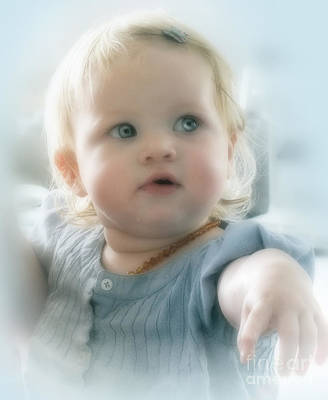 Photograph - Baby's Got Blue Eyes by Karen Lewis