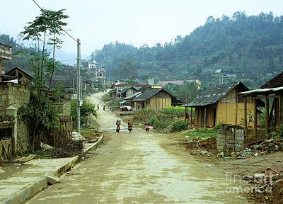 Photograph - Bac Ha Town by Rick Piper Photography