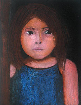Painting - Bacaba Girl by Patricia Beebe