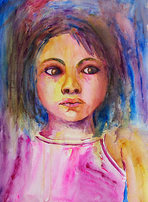 Painting - Bacaba Girl Too by Patricia Beebe