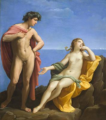 Bacchus And Ariadne Art Print by Guido Reni
