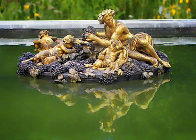 Bacchus Photograph - Bacchus Fountain by Nikolyn McDonald