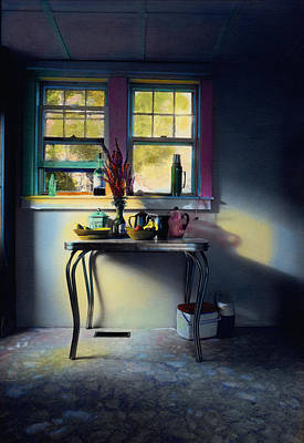 Bachelor's Kitchen - V Art Print by Cindy McIntyre