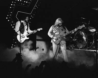 Photograph - Bachman-turner Overdrive Smokin In Spokane 1976 by Ben Upham