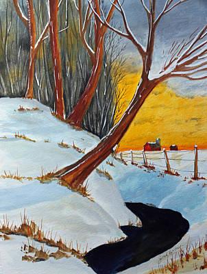 Back 40 Creek Art Print
