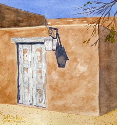 Painting - Back Alley New Mexico by Rich Stedman