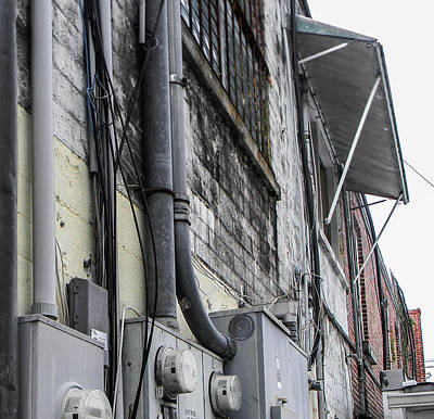 Photograph - Back Alley Walls by Christy Usilton