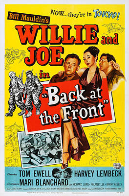Back At The Front, Us Poster, From Left Art Print by Everett