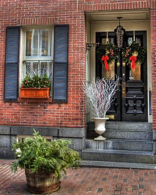Massachusetts Photograph - Back Bay Doors 1 by Joann Vitali