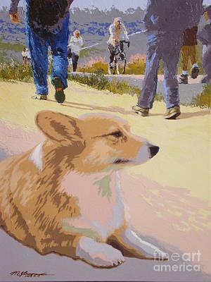 Painting - Back Bay Walk V.8 by Max Yamada
