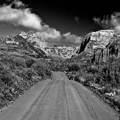 Grandview Digital Art - Back Country West Of Sedona by Bob and Nadine Johnston