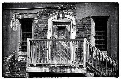 Photograph - Back Door Escape by John Rizzuto