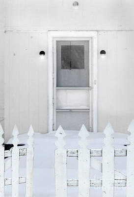 Photograph - Back Door In Winter by Jill Battaglia