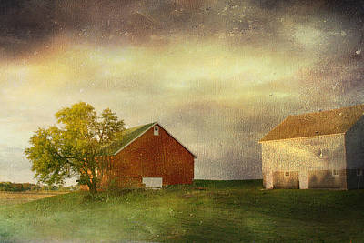 Back Home Again In Indiana Art Print by Regina  Williams