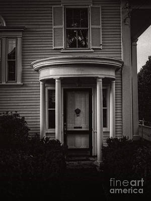 Photograph - Back Home Bar Harbor Maine by Edward Fielding