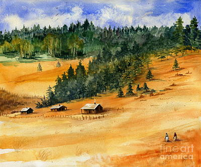 Tin Roof Painting - Back Home by Marilyn Smith