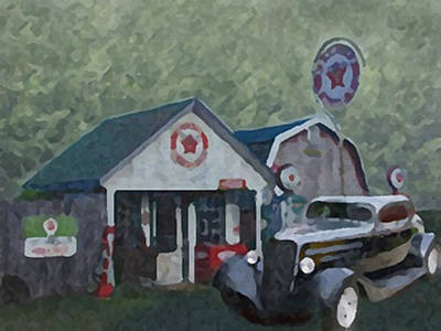 Painting - Back In The Day by Dennis Buckman
