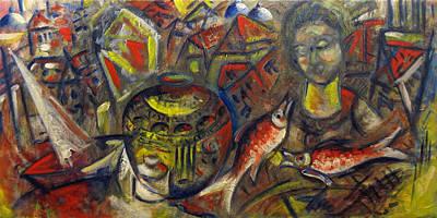 Painting - Back In Time 2 by Vladimir Kezerashvili