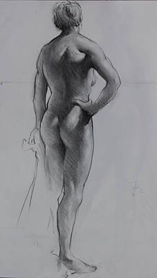 Back Lighting On Nude Original