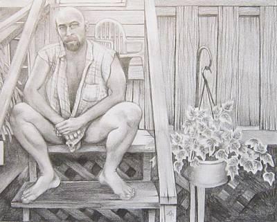 Back Porch Original by Michael Flynt