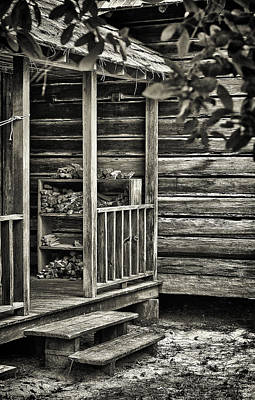 Florida Cracker Photograph - Back Porch by Patrick M Lynch