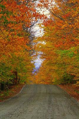 Back Road Original by Chris Walker