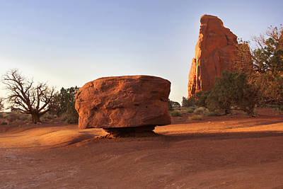 American Southwest Digital Art - Back Roads At Monument Valley by Mike McGlothlen