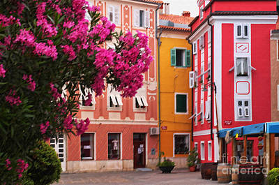 Photograph - Back Streets Of Izola Slovenia by Graham Hawcroft pixsellpix