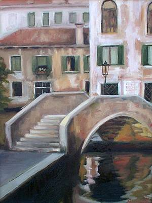 Back Streets Of Venice Art Print