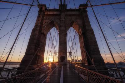 Brooklyn Bridge Wall Art - Photograph - Back To Brooklyn by Adhemar Duro