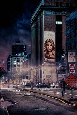 Broadway Wall Art - Photograph - Back To Gotham by Jackson Carvalho
