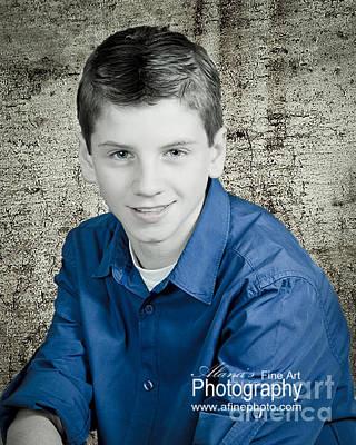 Photograph - Back To School Boy by Alana Ranney