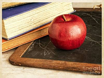 Homework Photograph - Back To School by Edward Fielding