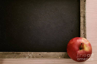 Fruit Colored Pencil Drawing Photograph - Back To School by Mythja  Photography
